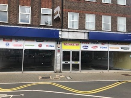 Vacant double fronted retail unit with rear access located in Central Harrow, available for immediate occupation. Suitable for traders requiring a prominent position with access from front and rear. Change of use may be granted, subject to Landlords...