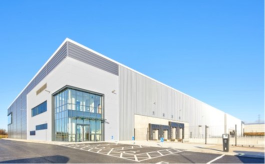 10m clear height. 4 dock and 2 level access doors. 11% Category A fit out first floor office. HGV parking 20 (incluiding 6 loading). 53 Car parking spacecs - including 3 accessible spaces and 6 electric vehicle charging points. Additional secure ring...