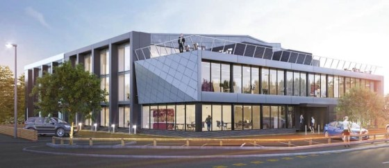 Regus The Henley Office - a new Oxfordshire office space designed for discerning professionals. It's situated within a shimmering glass building with a distinctly sci-fi feel in Newtown's primary business estate.
