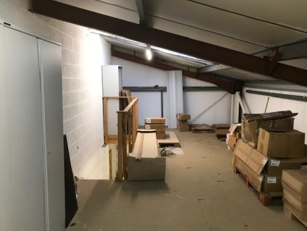 A Pair of Modern Semi Detached Warehouses - For Sale Freehold As One  Mezzanine Storage Added To Both