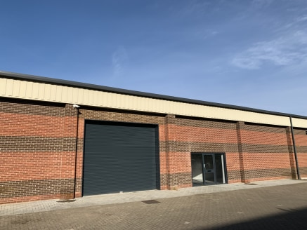 The building provides newly refurbished industrial warehouse accommodation.<br><br>The property benefits from a solid concrete floor in the warehouse as well as a front roller shutter entrance. The warehouse accommodation benefits from good floor to...