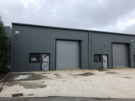 Two modern industrial units located on Bewdley Business Park. Available together or separately. Unit 16A 1,307 sq ft and unit 16B 1,276 sq ft.