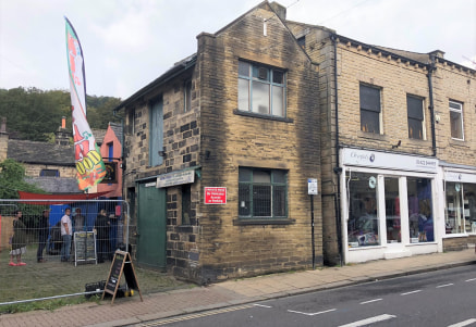 The premises briefly comprises a two story property of stone construction that fronts onto Crown Street in Hebden Bridge Town Centre. This is accessed via a sliding wooden loading door which measures 1.8m wide by 2.48m high and benefits internally fr...