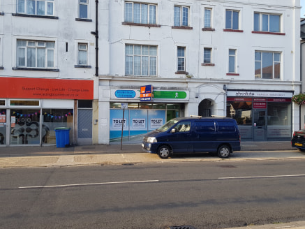 * Open plan retail area to rent  * Situated on a popular local retail parade  * Single WC  * Kitchenette facility  * On street parking  * Suspended ceiling with fluorescent strip lighting