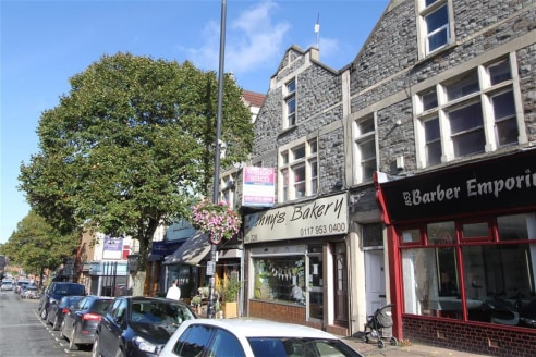 A mid terraced three storey commercial property arranged as an extended ground floor shop (approx. 1,500sqft) with two floors above currently arranged as offices. In addition, there is a two storey rear workshop (approx. 2,400sqft) accessible from Gr...