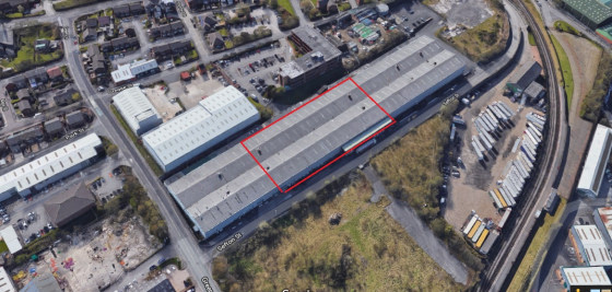 The property is a high bay warehouse within a two minutes drive of Junction 19 of the M62.\n\nThe warehouse benefits from the following:\n\n* in excess of 8metre eaves\n* two storey integral offices\n* level access loading\n* heating to the...