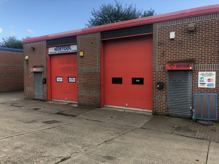 The properties comprise a steel portal framed, light industrial/warehouse unit, of brick and block work construction, under a pitched insulated profile metal sheet roof incorporating Perspex roof lights. The units comprise an office / trade counter r...
