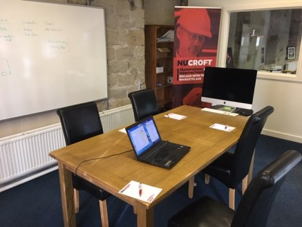 The property comprises a characterful first floor office located within the centre of Marsden.   The available space is located on the first floor of a converted mill and offers predominately open plan loft space with a separate board room and 2 smal...