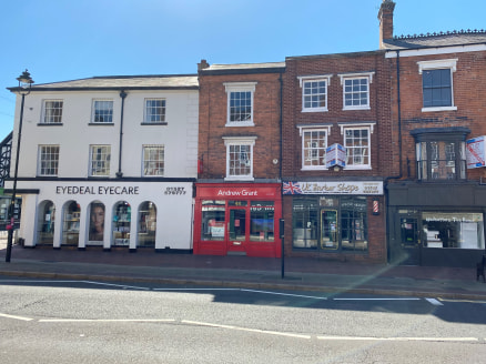 44 High Street offers a mid-terrace unit that forms part of a larger retail parade. The building is arranged over the ground, first and second floors. The property offers a retail / office area over the ground floor, which provides a prominent fronta...