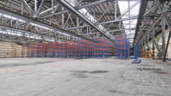 The premises forms a large industrial/warehouse which provides excellent storage/production space benefitting from the following specification:  *Average clear headroom 9.5m (31f)  *High bay sodium lighting  *Solid concrete floor  *Excellent loading...