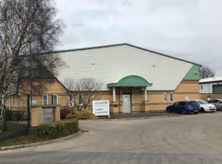 A modern detached warehouse of steel portal frame construction with profile, insulated steel cladding and part brick elevations. There is a height to eaves of 5.6m.<br><br>The amenity areas include open plan offices, meeting room and managers office,...