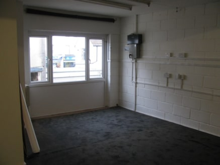 The premises comprise of a ground floor lock up workshop unit with its own separate WC. There are stairs leading to first-floor offices comprising of a reception area and three small rooms. This also has a toilet and kitchenette area.