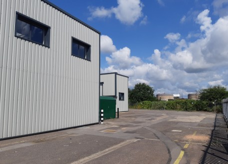 An industrial warehouse building of portal frame construction with brick and clad elevations beneath a profile sheet roof incorporating translucent light panels. The property provides two storey offices with ground floor reception. The property furth...