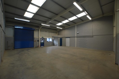 The premises comprise an industrial unit of blockwork construction with part cladding under a mono-pitched steel framed roof. The property has three phase electricity with strip lighting and WC facilities. There is on-site car parking for up to four...
