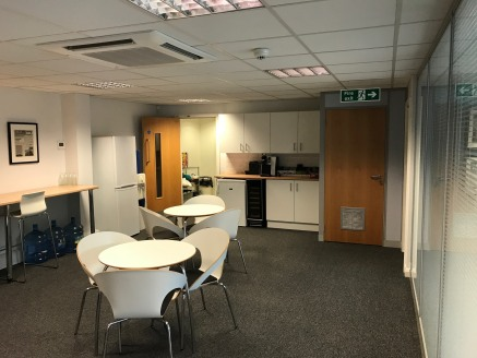 The property provides structurally open plan accommodation on one floor and benefits from the following:  Air conditioning.  Gas fired central heating.  Cat II Lighting.  8 car spaces.  Full height glazed partitioning providing a Board Room, private...