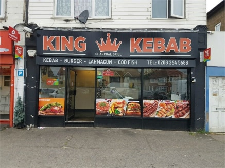 Business lease for sale\n\nalexandra park is pleased to offer this business lease for sale lock up shop kebab takeaway A5 use. The property is located in a parade of shops off A10. Rent £13,500 per annum. Business Rate approx £1000 per...