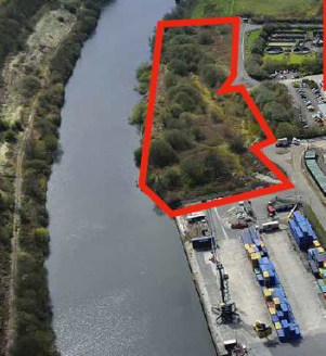 7.6 acres. Adjacent to the Manchester Ship Canal / Irlam Container Terminal. Unsurfaced site. Appropriate for development of open storage.