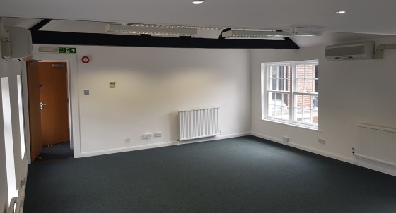 Unit 2 The Pentangle comprises a two storey self contained office building. The building is of brick construction with pitched roof. The offices provide open plan accommodation with good natural light. The offices are heated via gas central heating....