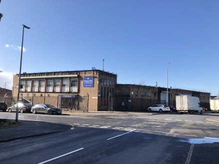 The property comprises a detached warehouse premises with a double storey section to the front beneath a flat roof including offices at first floor level and open plan warehouse accommodation to the rear.  The warehouse is of steel portal frame const...