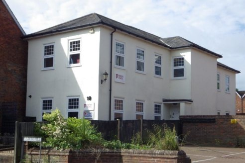 Attractive Two Storey Detached Town Centre Offices with Superb Parking Nearby