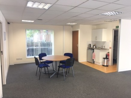Unit 24 is an end of terrace, two storey property and occupies a prominent position in the centre of the estate. It also has attractive views over the gardens front and rear.  Internally the office provides predominantly open plan accommodation but d...