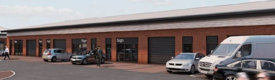Units 1 & 2 are single storey industrial/trade counter buildings that are capable of sub division from 642 sq ft.   Each unit will be constructed to a shell standard to allow incoming tenants the option to fit out to suit their individual requirement...