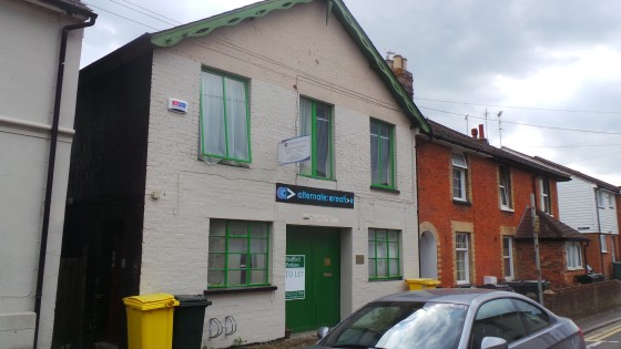 This effectively end-terraced building of solid brick construction has been refurbished and provides 4 separate 1st floor office/studio/storage areas with this one being at the rear of the premises with the benefit of its own WC facilities, being sui...