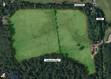 The land is a broadly level open area of grassland of circa 35 acres (Source: Promap). It lies within an Area of Outstanding Natural Beauty (ANOB). The local authority is Wealden District Council. There are no recorded planning applications is relati...