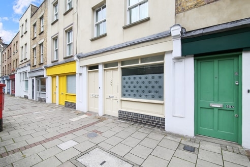 Available for sale and to let.   Found within a parade of offices, the unit is found on the ground floor with 4m of frontage overlooking Lambeth Walk. The unit benefits from electronic roller shutters and a rear garden space.   The property is locate...