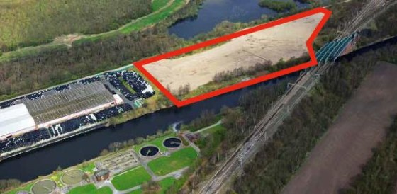 Unsurfaced site adjacent to Port Warrington. Approximately 10.15 acres. Appropriate for a development site, warehousing, processing or open storage.