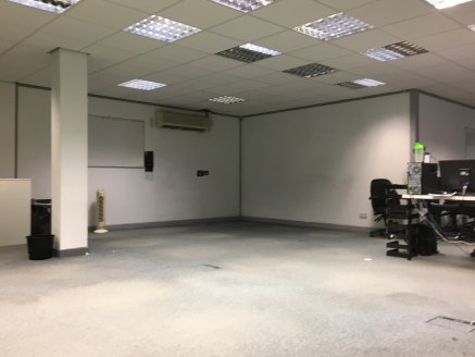 DESCRIPTION  The office space provided is within a multilet  ground floor office suite which has the possibility  of been split. With good natural light in the suite  and the benefit of air conditioning. The suite is  currently fitted out with four w...