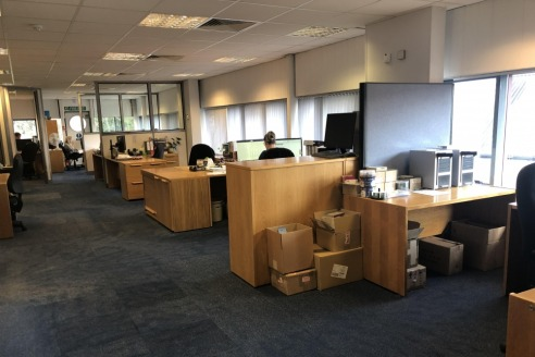 The premises provide a modern, high quality industrial business unit in Central Guildford, with a good eaves height and high quality fully fitted air conditioned office accommodation on ground and first floors. Two small workshop / light assembly roo...