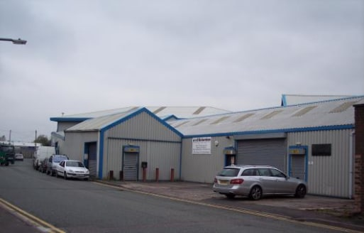 The unit is of steel framed construction with brick/blockwork and profiled sheeted walls surmounted by a pitched, metal profiled sheeted roof incorporating filon roof lights. Access is via a roller shutter door. An internal office, kitchen and toilet...