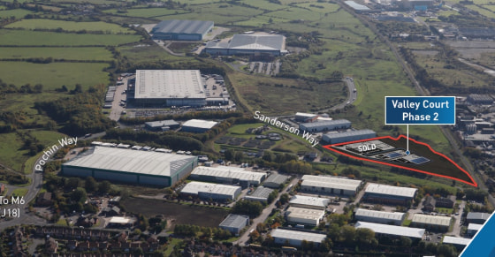 Proposed High Specification Industrial / Business Space Units  9,000 sq ft - 20,400 sq ft  From £7.50 per sq ft leasehold  From £130 per sq ft freehold
