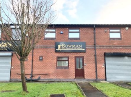 A mid terraced business unit constructed to a high specification, containing primarily office accommodation. Light storage, kitchen and WC facilities are provided to the ground floor.<br><br>There are offices to the first floor.<br><br>Constructed of...