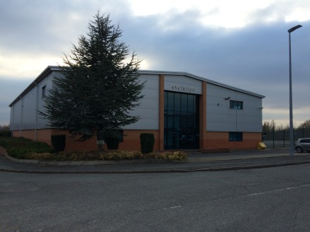 A warehouse / industrial unit with offices and large yard on a site of 1.32 acres.  15,447 sq ft  Leasehold - £59,500 per annum  LongLeasehold - On application