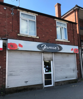 A mixed commercial and residential investment property.  Ground floor comprises of an open plan cafe with external store and toilet to the rear.  The flat comprises of a ground floor entrance lobby and kitchen, first floor landing, living room, two b...