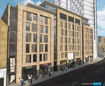 This exciting development will comprise an exclusive residential block of 96 high end apartments plus the creation of 2 ground floor retail and leisure units with planning for A1-A3 use that can be combined or offered to let separately. The units wil...