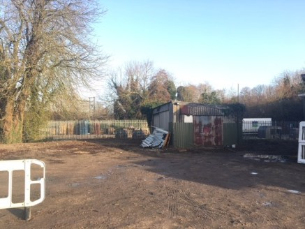 The property comprises a basic workshop with yard space.  The workshop and yard are located within a secure site, bounded in the main by Pallisade fencing.