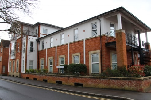 Prominent air conditioned town centre office building with underground parking