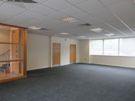 A high specification self contained office building over ground and two upper floors