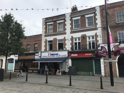 The property is located within in High Wycombe Town Centre opposite WH Smith and McDonalds with Costa Coffee in close proximity. High Wycombe mainline train station provides services to London Marleybone with a fast direct journey time of less than 3...
