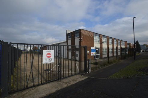 The property comprises a brick built dual-pitched warehouse with integral office to the front elevation. The warehouse benefits from a minimum height of 3.5m to the haunch, sodium / halogen lighting, 3 phase power, a new roof, gas warm air blows and...