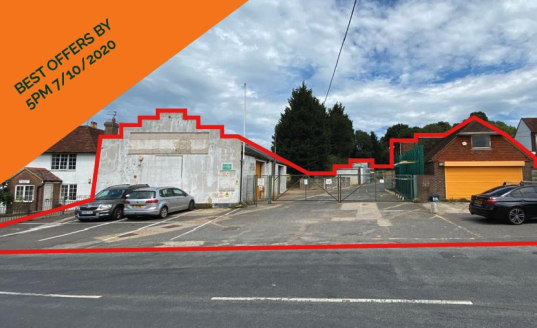 Owner Occupier / Investor / Development Opportunity  0.48 acre commercial site with various buildings  Best offers by 5pm on 7/10/2020   See bid procedure to the rear of the property brochure  VIEWINGS TO BE HELD ON WEDNESDAY 30TH AT 2PM FOR AN HOUR
