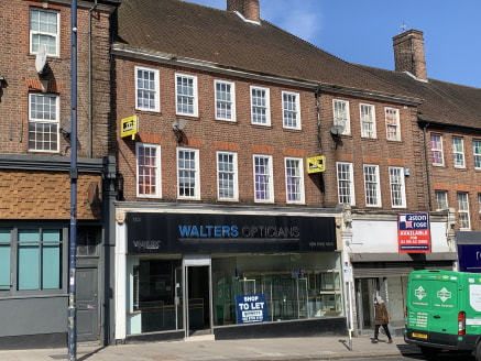 A lock-up retail unit comprising 657 sq ft and benefitting from a wide frontage of 28ft and built depth of 26ft. The unit previously traded as an opticians and has a modern interior, arranged as a front retail sales area with separate consultation ro...