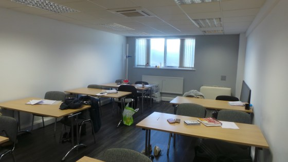 This ground floor office accommodation totalling just over 1,200 sq. ft comprises two training rooms, a further office, lunch room and large kitchen area. The accommodation is finished to a good standard with laminated flooring in the two training ro...