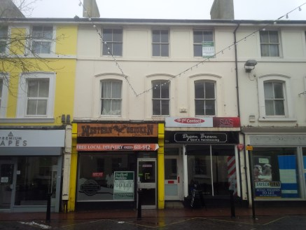 This lock-up retail premises comprises 325 sq.ft. of sales area on the ground floor with an additional 47 sq.ft. kitchen area which includes full extraction equipment. There is a basement area of 274 sq.ft. which provides further kitchen and food pre...