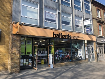 The premises are situated at eastern end of the High Street (A1023) on the north side close to the junction with Ongar Road (A128). Adjoining occupiers include Next, Wildwood, Thomas Cook and Greggs and to the rear of this end of teh High Street is S...