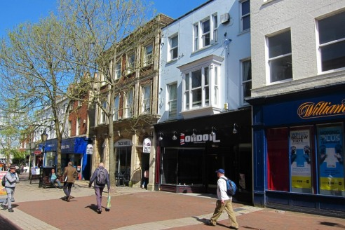 Ground Floor Retail Unit with Parking in Poole High Street – 139 High Street
