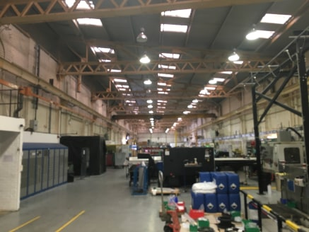 The property comprises of a single storey brick built detached industrial property, beneath a steel frame pitched profile asbestos sheet roof, incorporating Perspex rooflights. There is a two-storey flat roofed extension to the front of the industria...